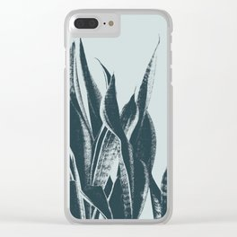 Long Leaves of The Green Plant #decor #society6 #buyart Clear iPhone Case