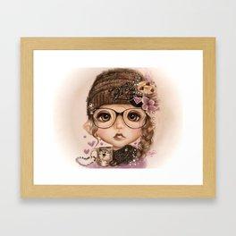 JAVA JOANNA  Framed Art Print