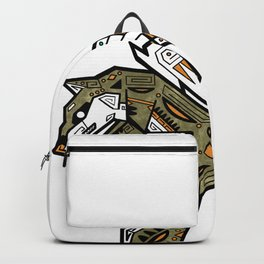 Wings Above the Desert Sand Backpack