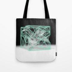 neon cube Tote Bag