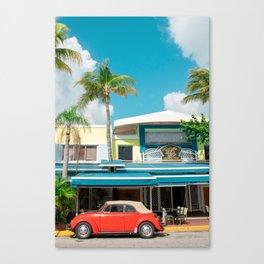 Mango's Tropical Cafe, South Beach Miami Canvas Print