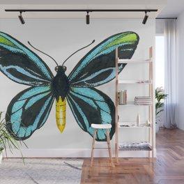 Queen Alexandra' s birdwing butterfly Wall Mural