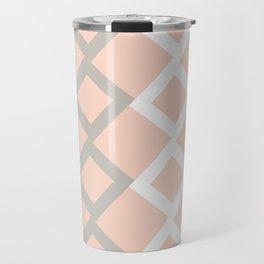 Blushed out boxes Travel Mug