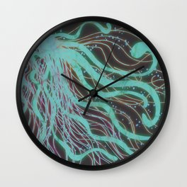Watery Delight Wall Clock