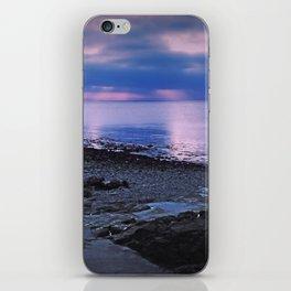 Evening sunset iPhone Skin