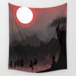 Hunters Moon/Dark Forest Wall Tapestry
