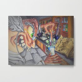 Mad Professor Metal Print