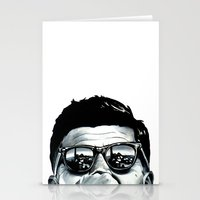 jfk Stationery Cards featuring JFK by beeisforbear