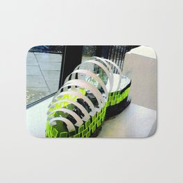 View shoe as a building Bath Mat