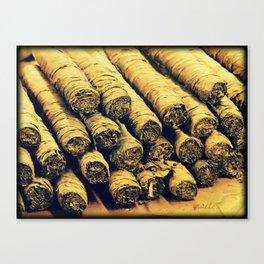 Cigars Canvas Print