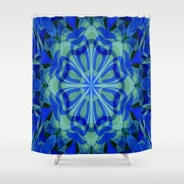 Healing Mandala Shower Curtain