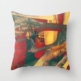 Boi de Piranha Throw Pillow