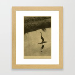 The Outcome Of Individual Events Framed Art Print