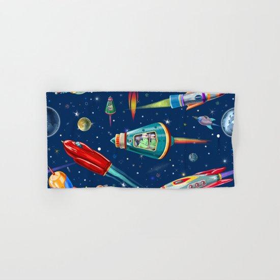 rockets in traffic Hand & Bath Towel