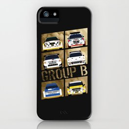 Group B iPhone Case