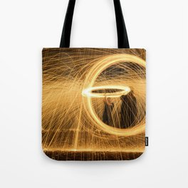 Circle of Fire Tote Bag