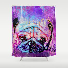 Gargoyle Soup Shower Curtain