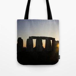 Stonehenge at Sunset Tote Bag