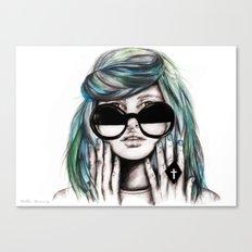 Fiona Wildfox  Canvas Print