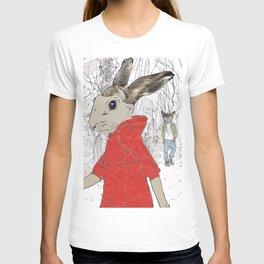 A Wolf met her T-shirt