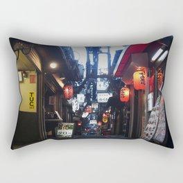 Shinjuku Eats Rectangular Pillow