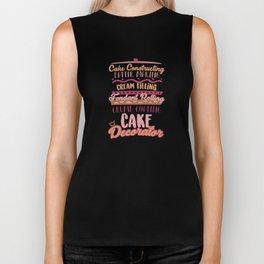 Cake Making Fondant Rolling Cake Decorator Biker Tank