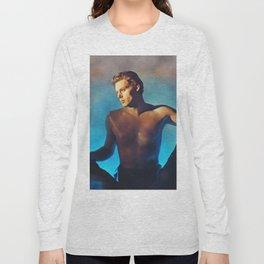 Johnny Weissmuller as Tarzan Long Sleeve T-shirt