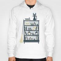 miyazaki Hoodies featuring Ghibli Shelf // Miyazaki by Daniel Mackey