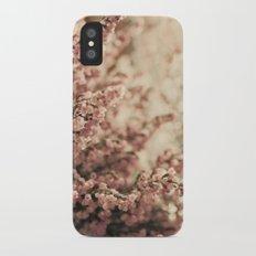 Heather iPhone X Slim Case
