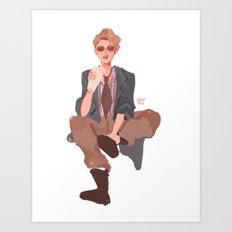 Holtz Art Print