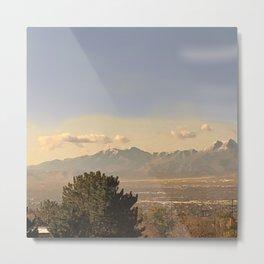 Salt lake 4 Metal Print