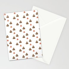 TOASTER PATTERN Stationery Cards