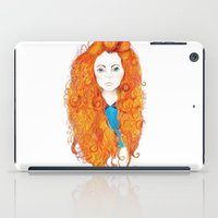 brave iPad Cases featuring Brave by FeliciaR