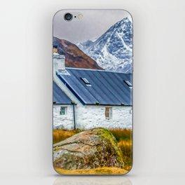 Black Rock Cottage Glencoe (2) iPhone Skin