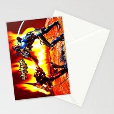 Eva-00 vs Eva-02 photoshoot Stationery Cards