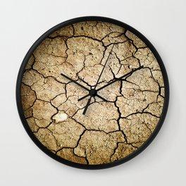 Dirt Wall Clock