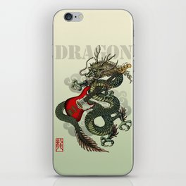 Dragon BassGuitar 01 iPhone Skin