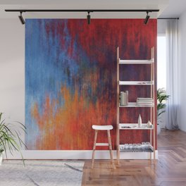 Hell Flame Wall Mural