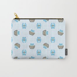 Green Tea Bears Carry-All Pouch