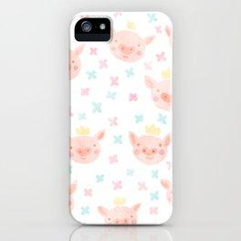 Piggy Prince iPhone Case