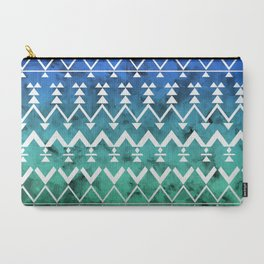 Triangle Tribal Carry-All Pouch