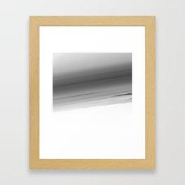 Gray Smooth Ombre Framed Art Print