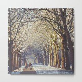 Dutch Winter Wonderland  Metal Print