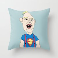 goonies Throw Pillows featuring The Goonies by Elena Éper