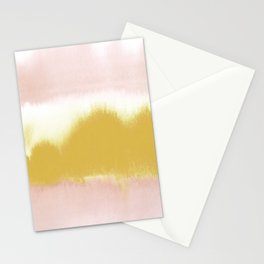 Blush & Gold Rush Stationery Cards