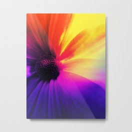 Floral Infusion Metal Print