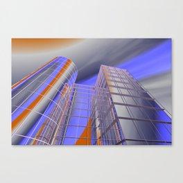 city -w3- Canvas Print