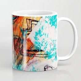 Raining Turquoise Coffee Mug
