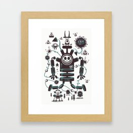 The Magic Garland Framed Art Print