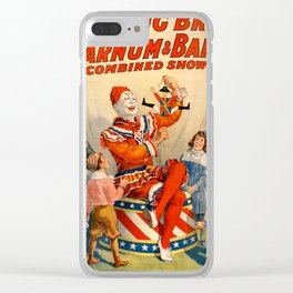 Ringling Circus Clear iPhone Case